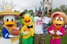 Chris Paul and the Three Caballeros  - Courtesy of Disney